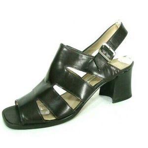 Enzo Angiolini Chunky heel sandals- tunic